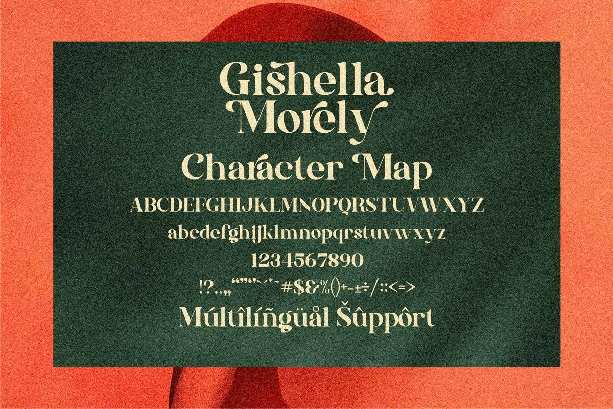 Gishella Morely Font-2