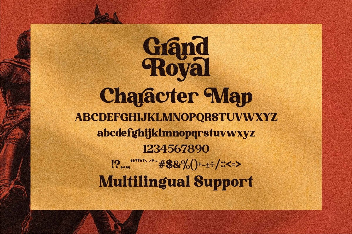 Grand Royal Font-2