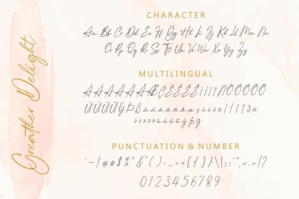Greather Delight Font-3