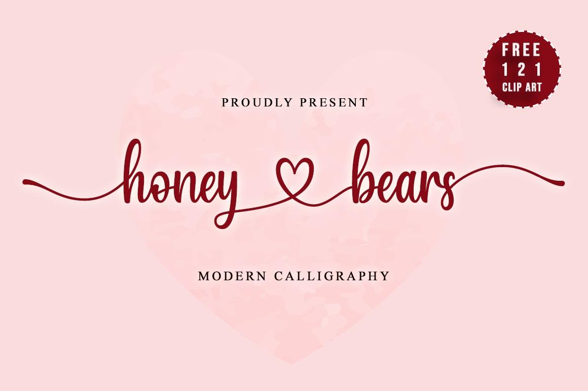 Honey Bears Font
