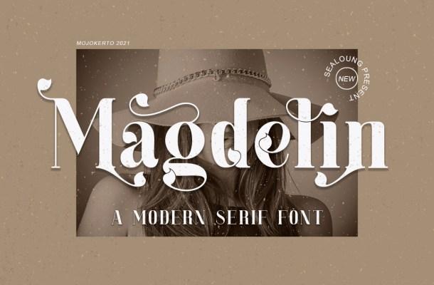 Magdelin Font