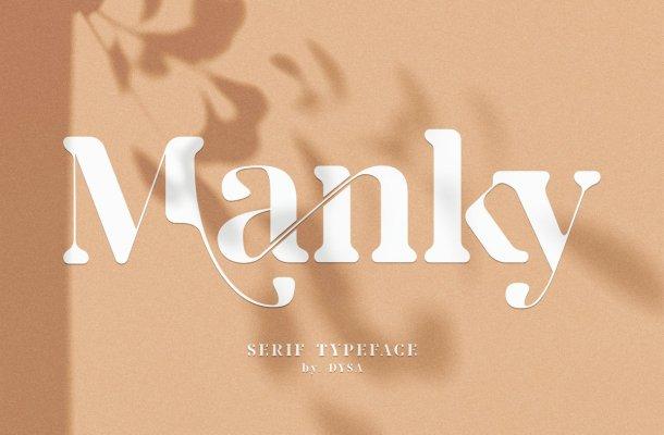 Manky Typeface