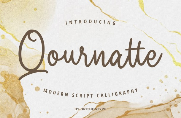 Qournatte Font-1