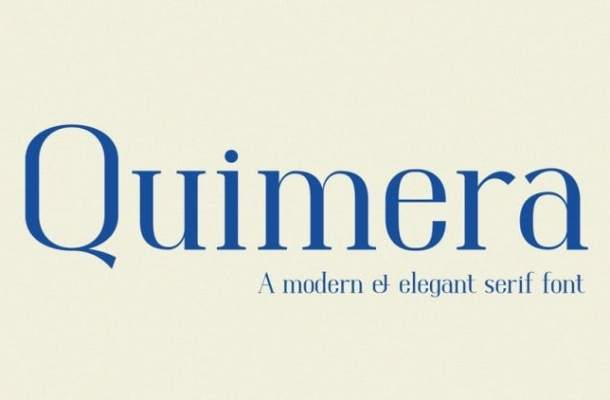 Quimera Font