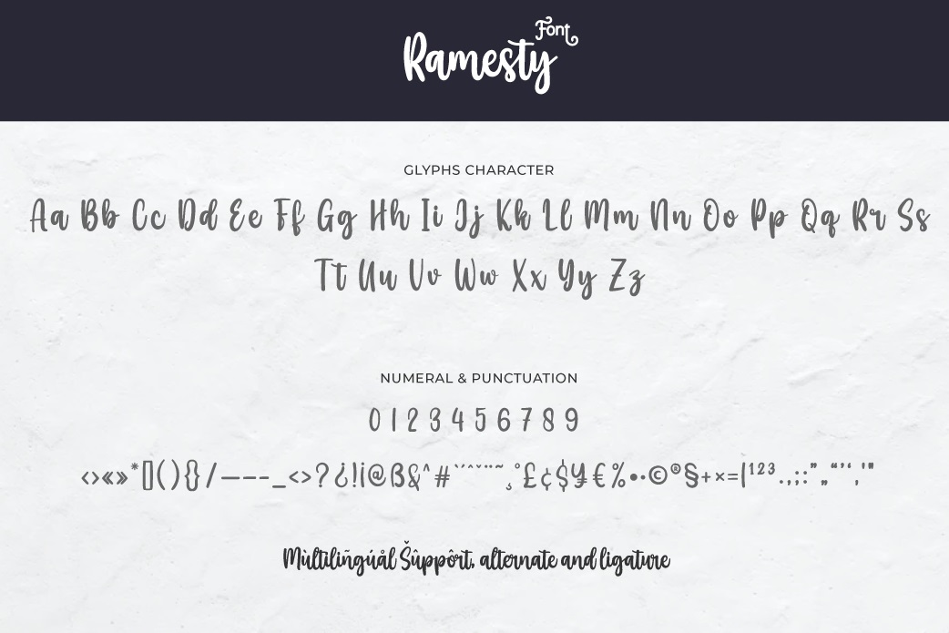 Ramesty Font-3