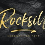 Rocksill Font