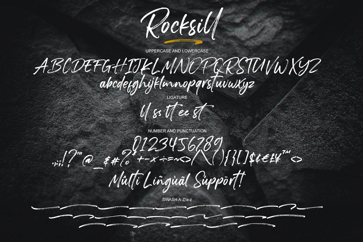 Rocksill Font-3