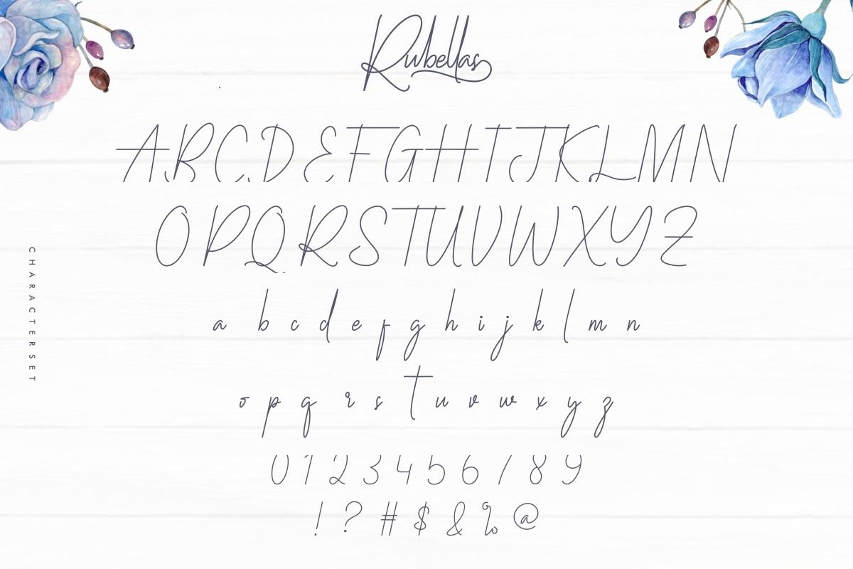 Rubellas Font-3