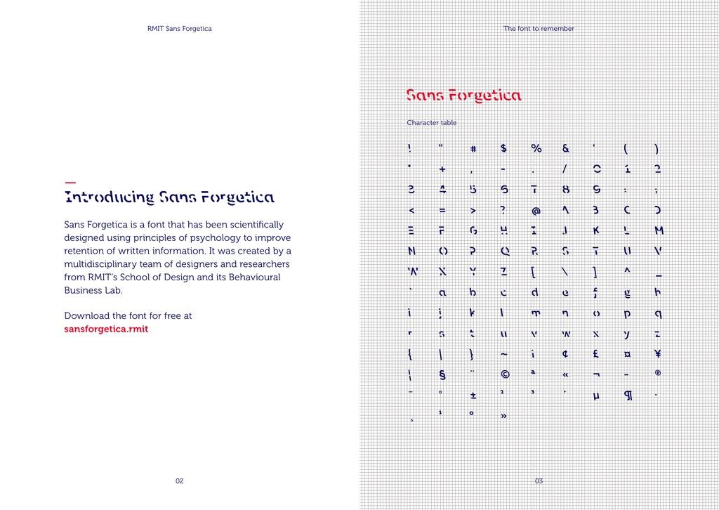Sans Forgetica Font-3