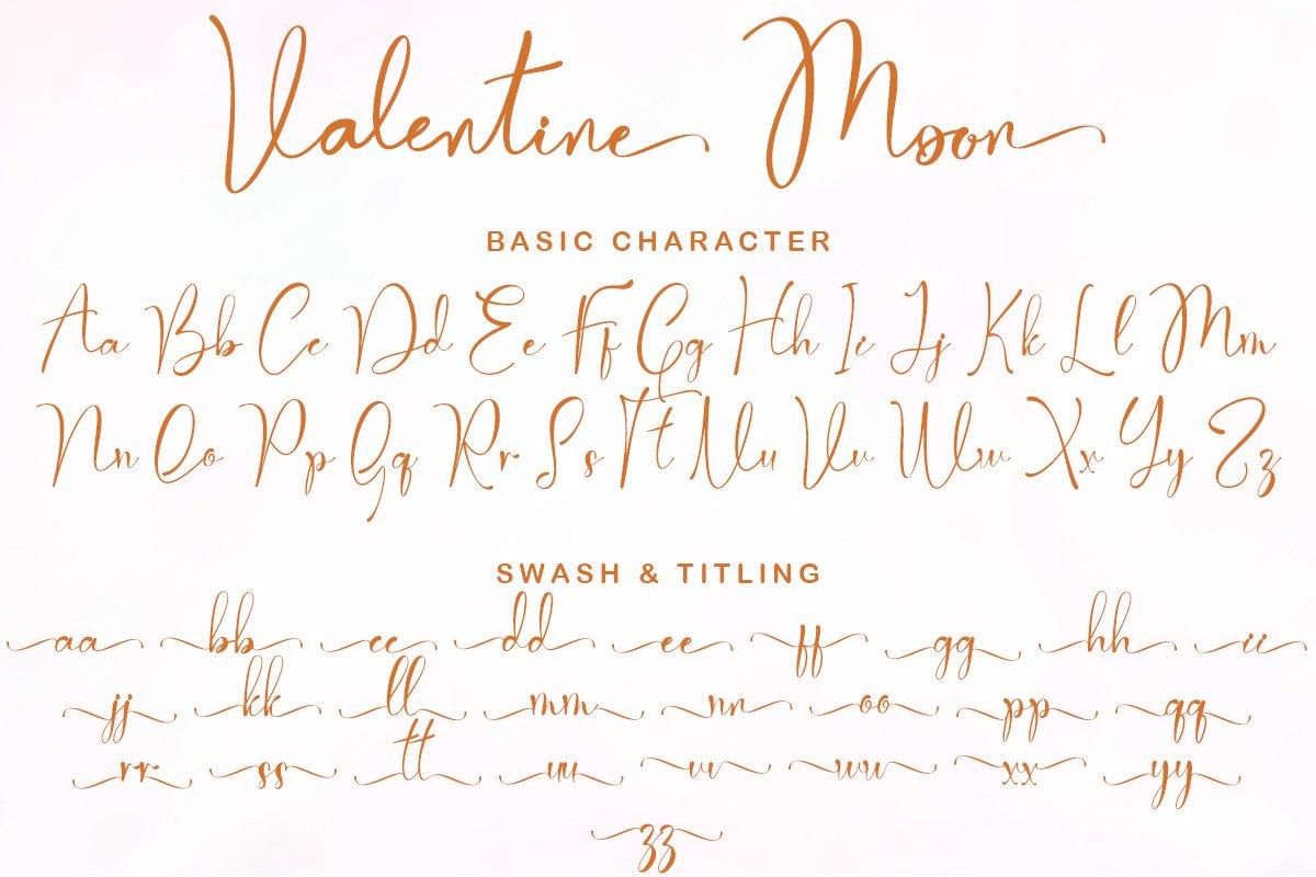 Valentine Moon Font-2