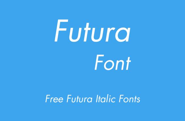 Futura Italic Free Alternatives