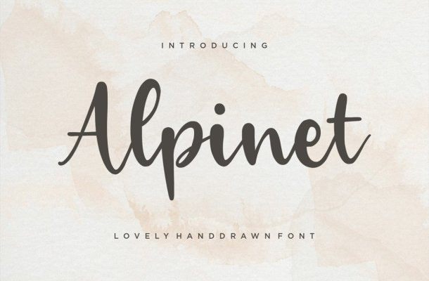 Alpinet Font