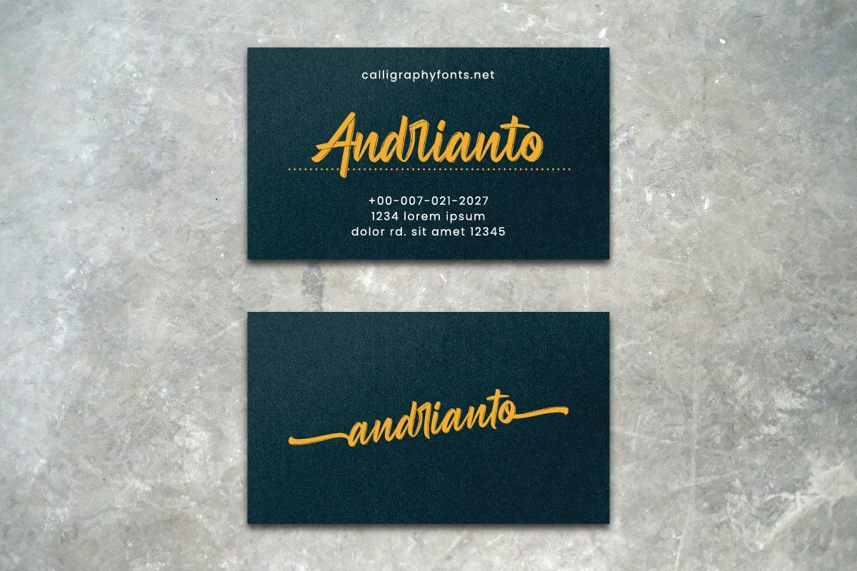 Andrianto Font-2