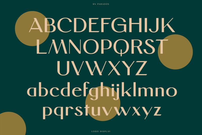 BN Paradox Free Font-3