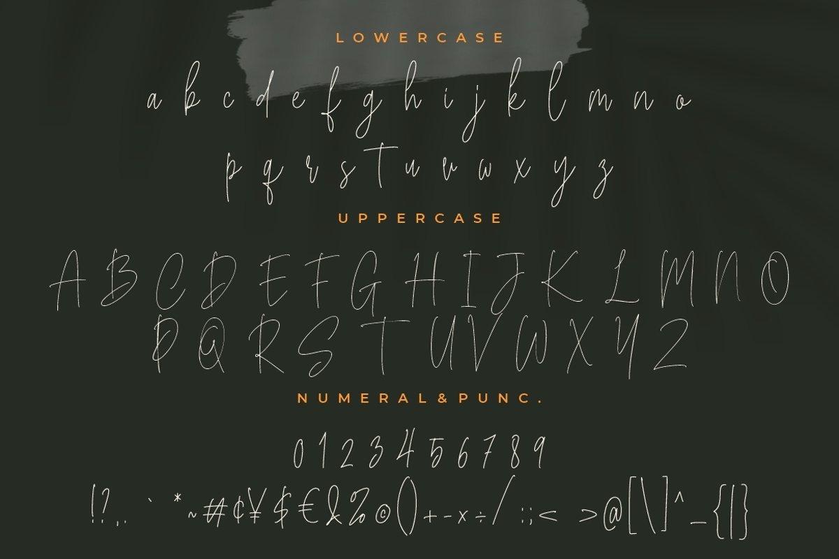 Bucherry Font-3