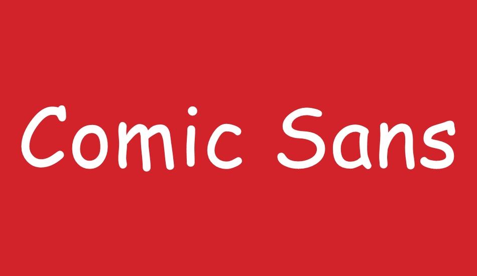 Comic Sans MS Font