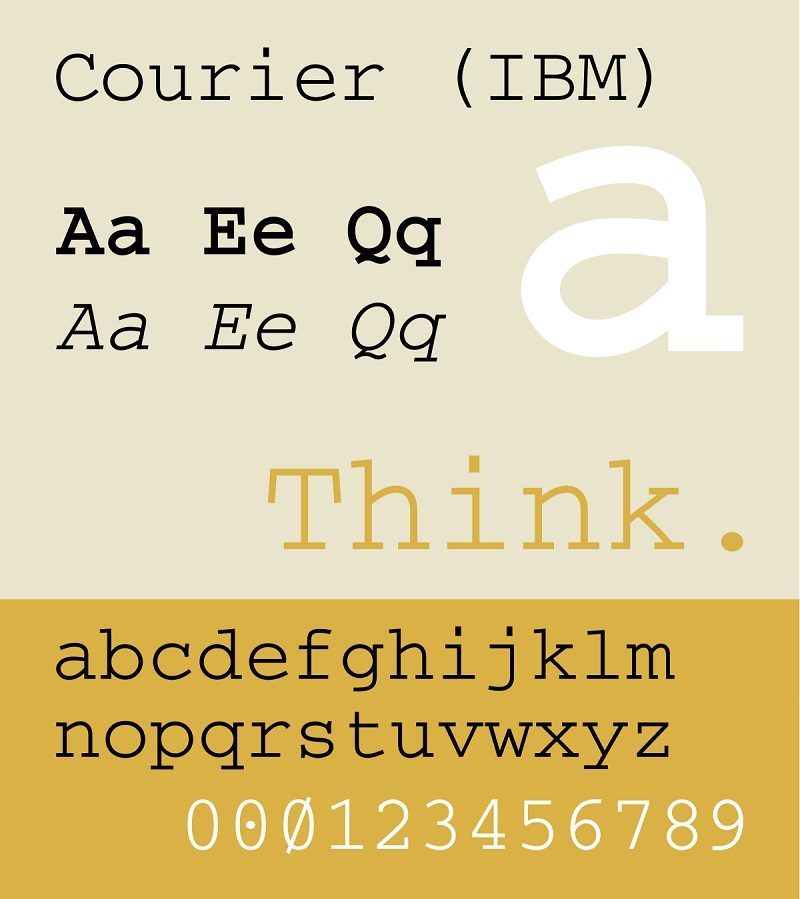 Courier New Font-2