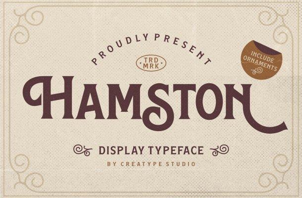Hamston Typeface