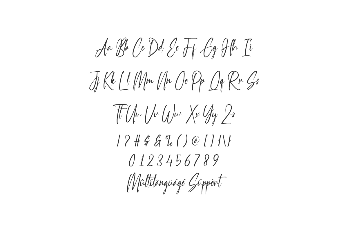 Handselled Font-3