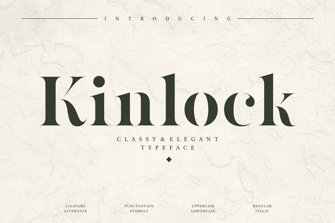 Kinlock Font