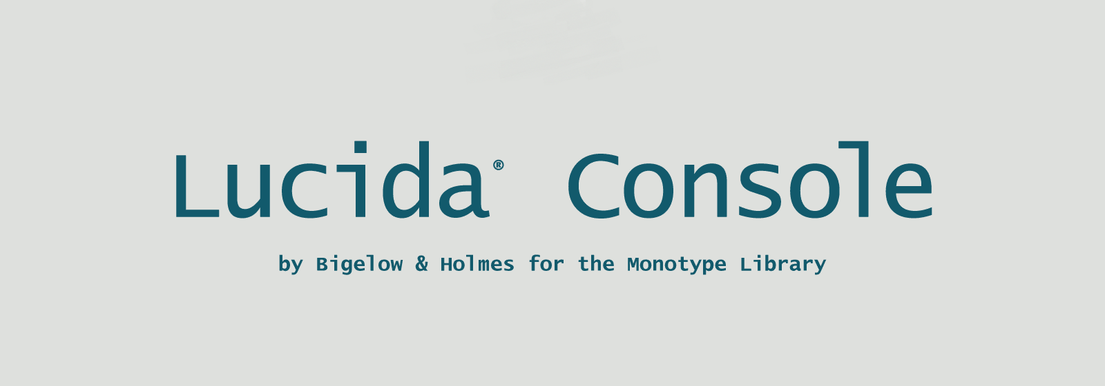 Lucida Console Font
