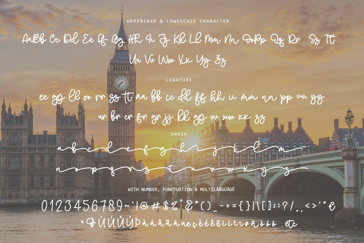 Melukis Senja Font-3