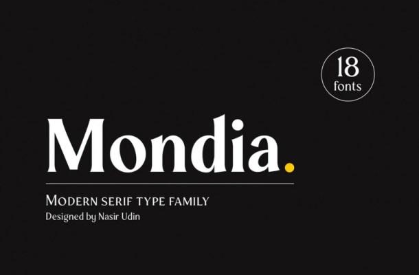 Mondia Font