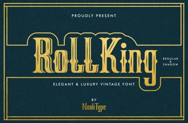 RollKing Font
