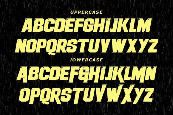 Therace Font-2
