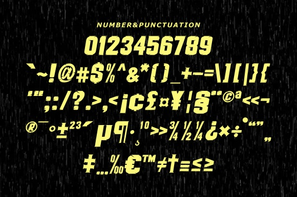 Therace Font-3