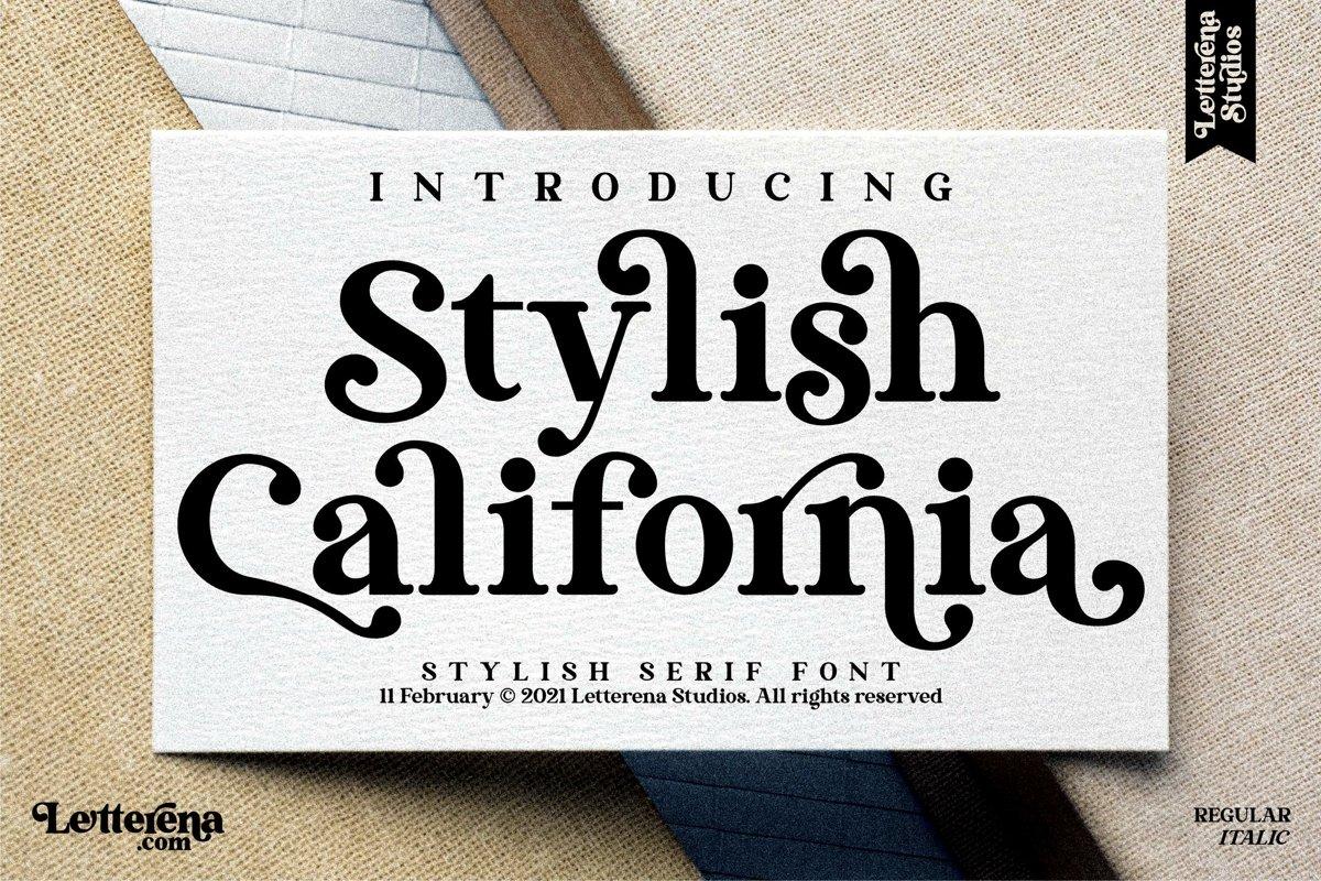 stylish-california-font-1