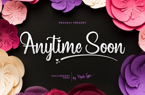 Anytime Soon Font