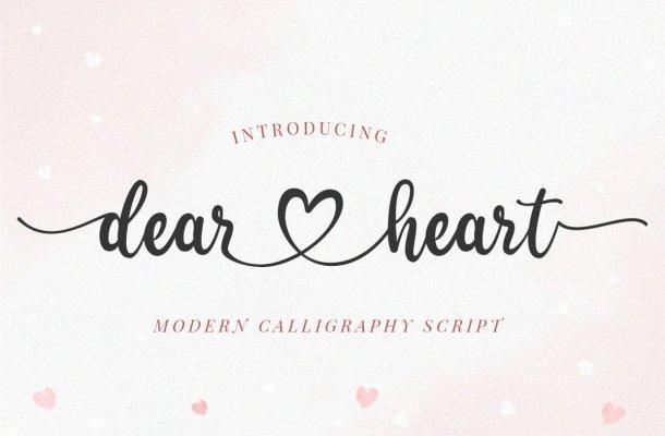 Dear Heart Font