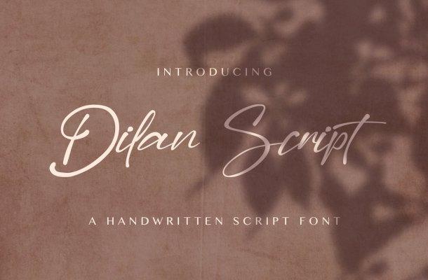 Dilan Script Font