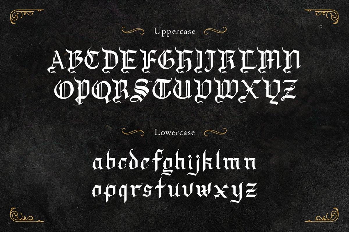 Draculie Font-2