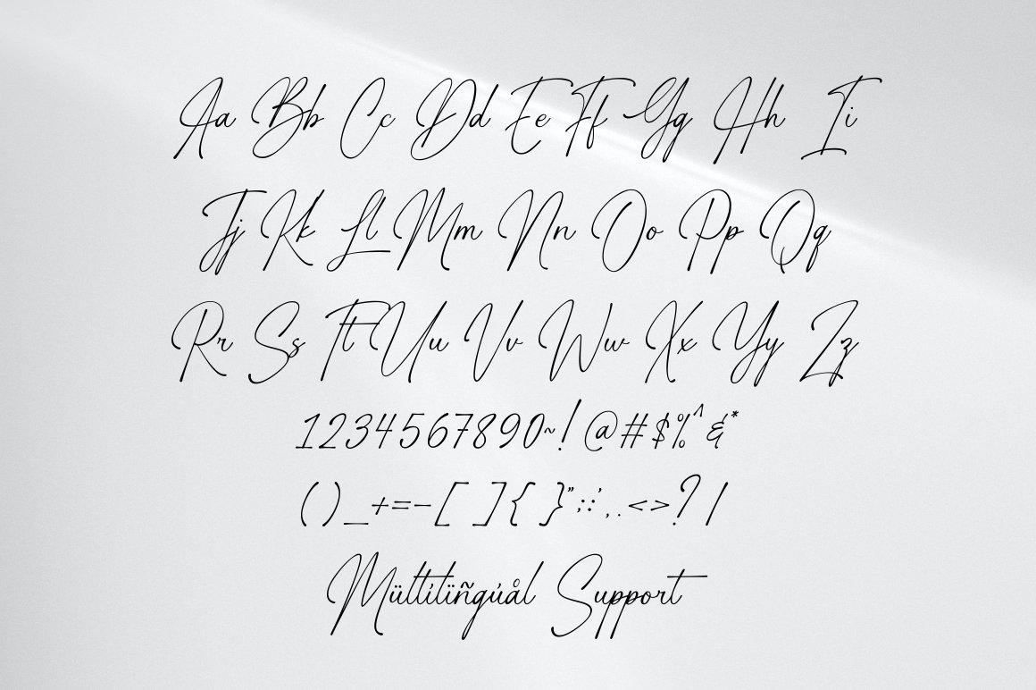 Gasthony Signature Font-3