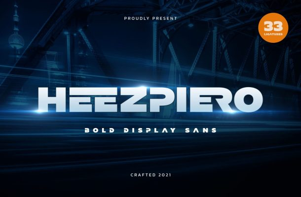 Heezpiero Font