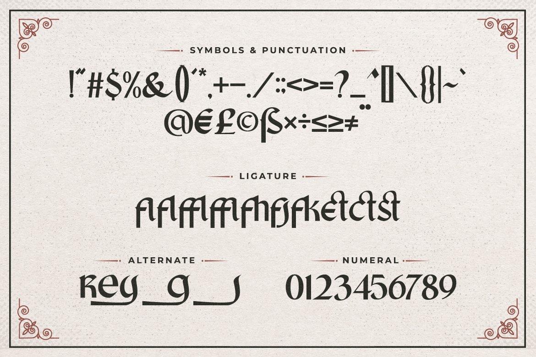 King Castle Font-3