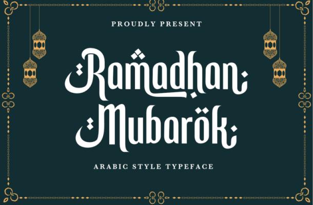 Ramadhan Mubarok Font