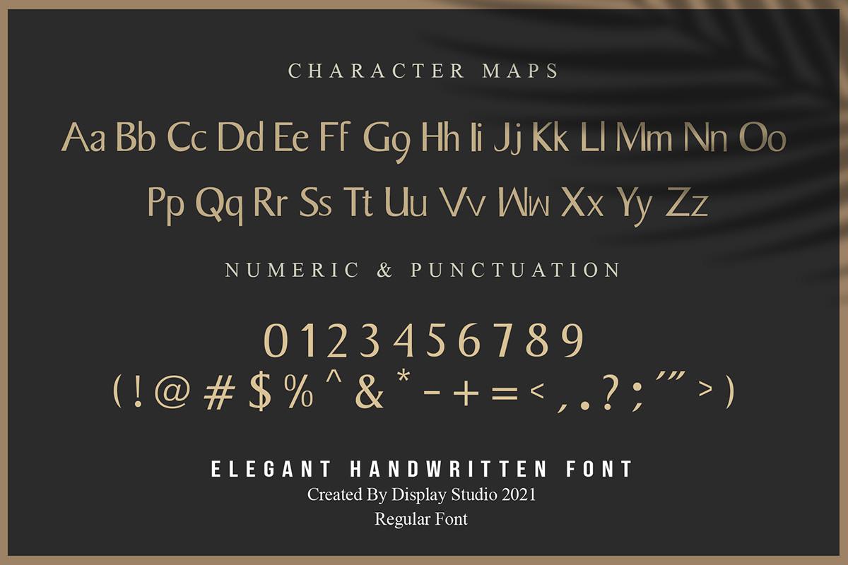 The Moonlight Font-3