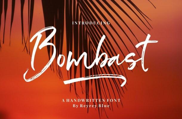 Bombast Font