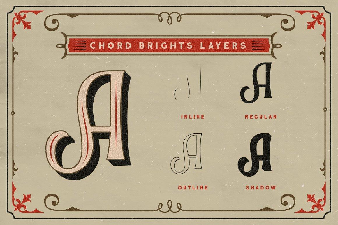 Chord Brights Font-2