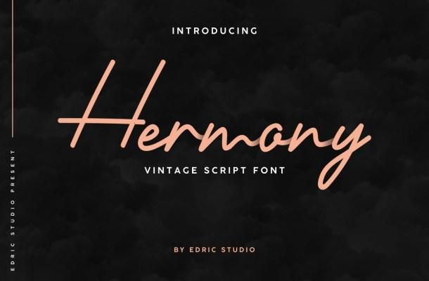 Hermony Font