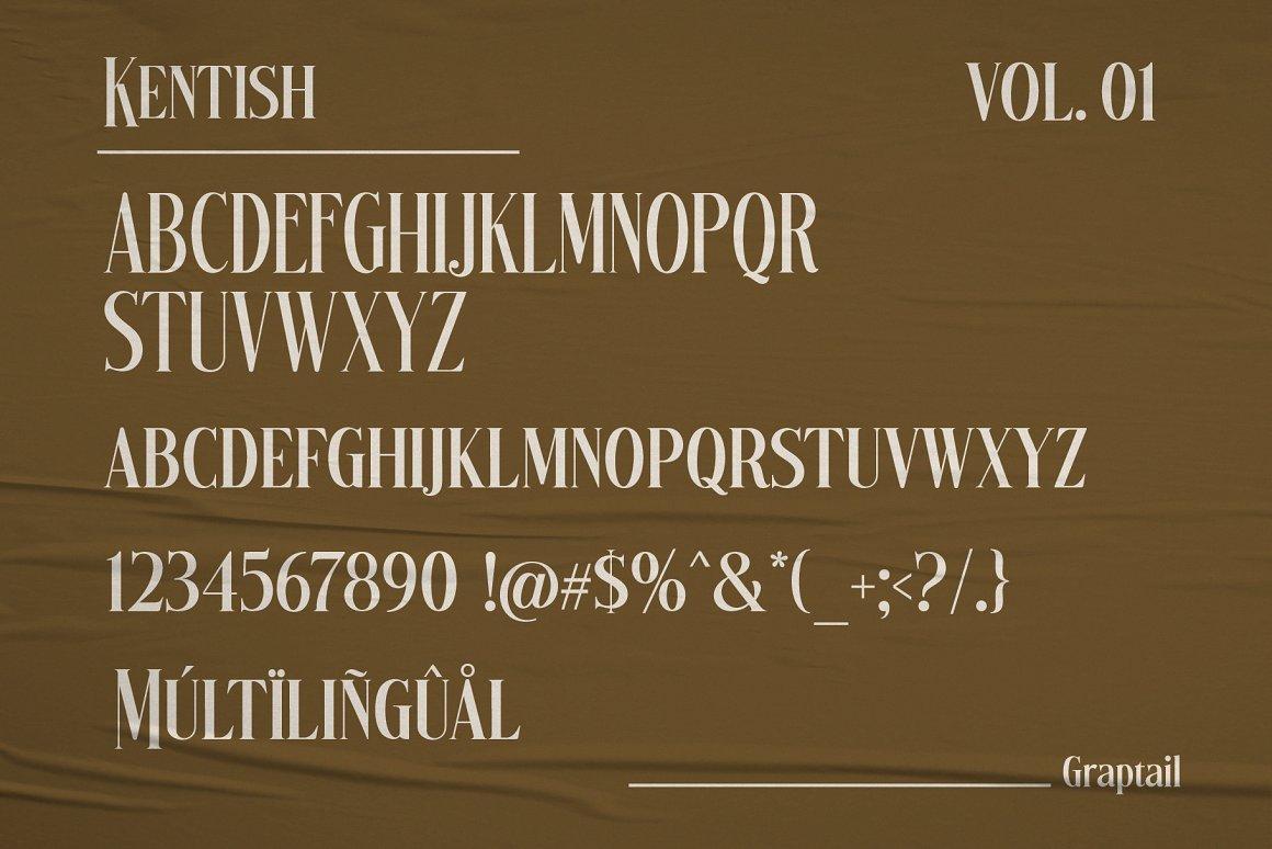Kentish Font-2