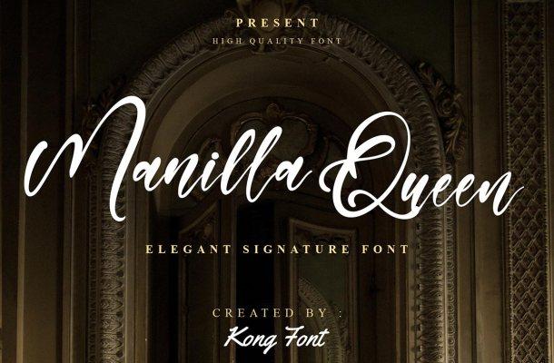 Manilla Queen Font