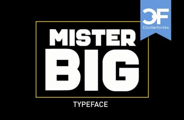 Mister Big Font