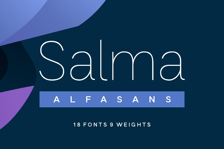 Salma Font Family