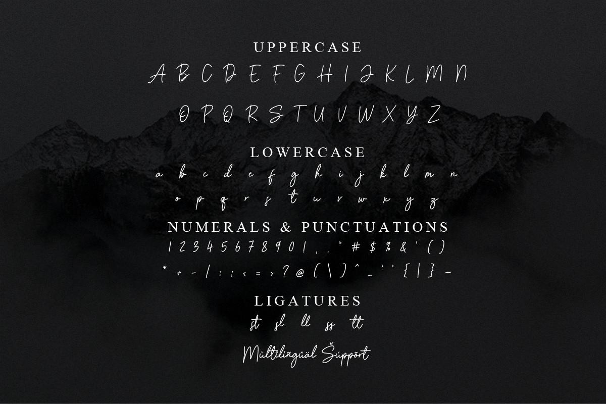 Amstone Font-3