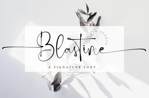 Blastine Font