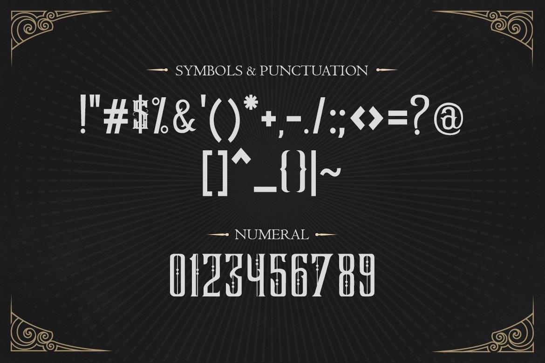 Dark Magic Font-3